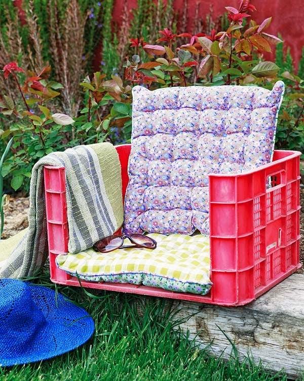 sillón diy idea para reciclar