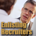 enlisting recruiters in your job search,