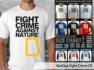 T shirt National Geographic Fight Crime