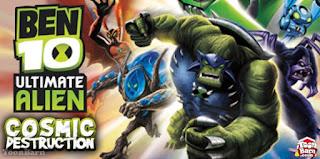 Download Ben 10 Ultimate Alien :- Cosmic destruction Download only in 600 MB