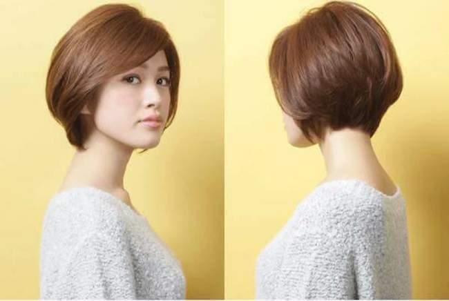 5 kiểu tóc tém đẹp cho cô nàng mặt vuông cá tính - Ảnh 1