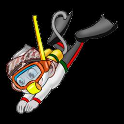 Logo dan Lambang Cabang Olahraga PON Jabar 2016 Selam