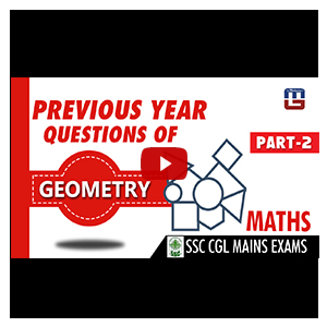Previous Year Questions Paper | Geometry | Maths | SSC CGL Mains Exam 2017