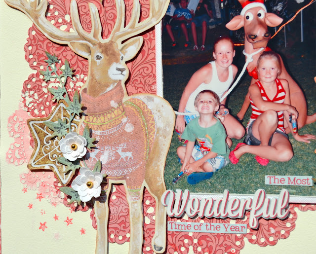 Carousel Christmas_Mixed Media Layout_Denise_11 Oct_03