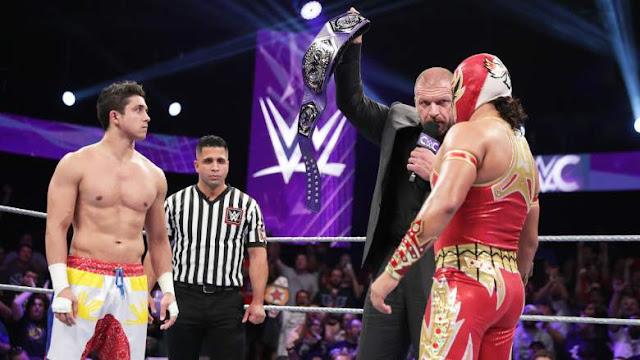 Triple H TJ Perkins Gran Metalik Cruiserweight Classic Finale Championship WWE