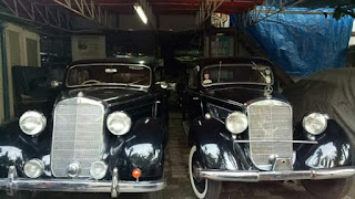 Dijual Mobil Antik Mercy 1936 and 1954 , Barang Limitied , Collector Item