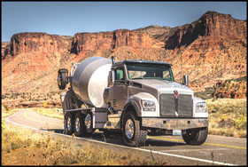 Kenworth T880S with McNeilus Mixer