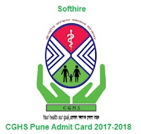 CGHS Pune Admit Card