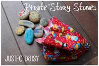 Handmade Pirate Story Stones :: Just For Daisy
