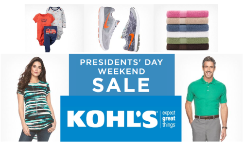 Kohl's offering Up to 50% off
