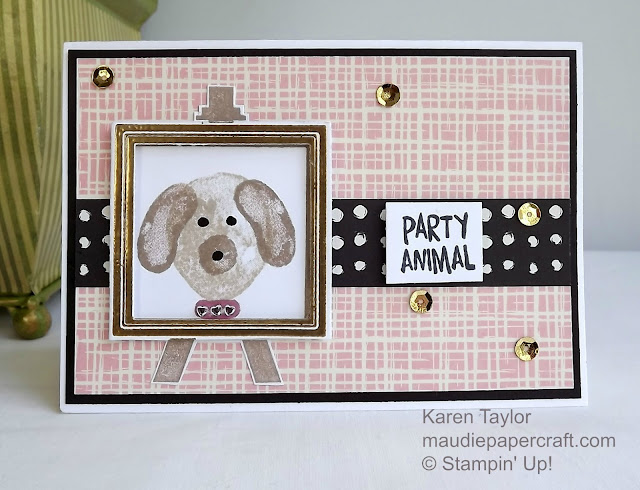 Stampin' Up! Balloon Builders meets Painter's Palette card