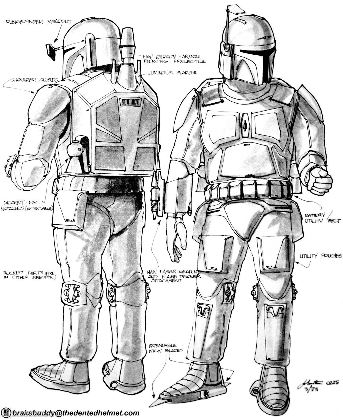 Want To Known Everything Boba Fett S Armor Does Film