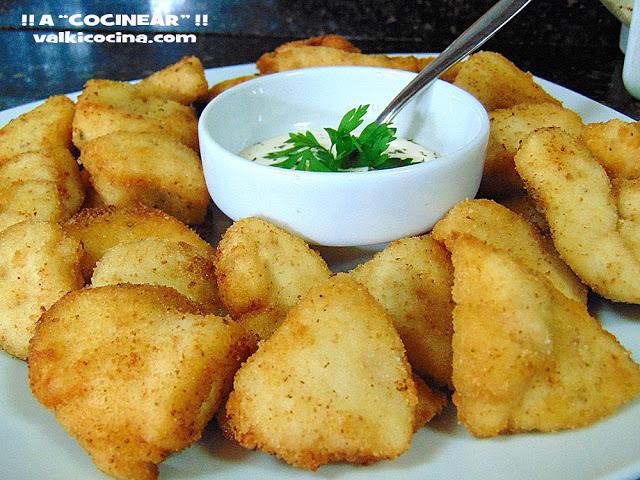 receta-de-medallones-de-pollo-empanado