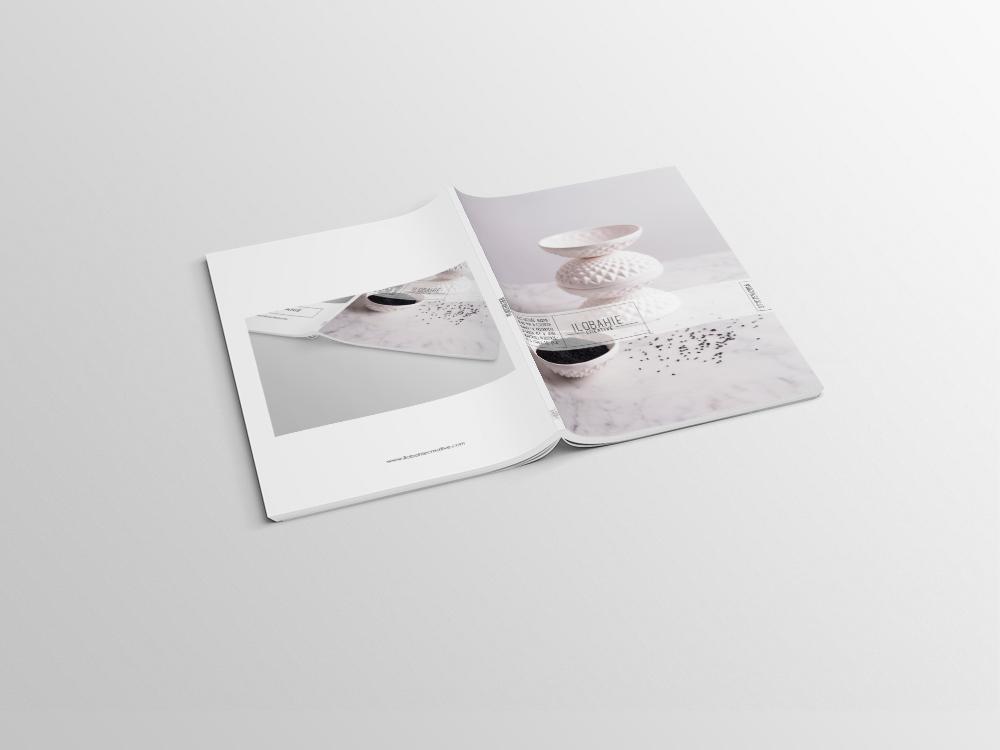 Projekt rozkładówki magazynu