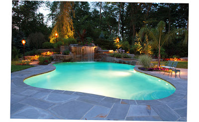 Best Preview of Inground Cipriano Landscape Design Mahwah Nj Torches Allendale