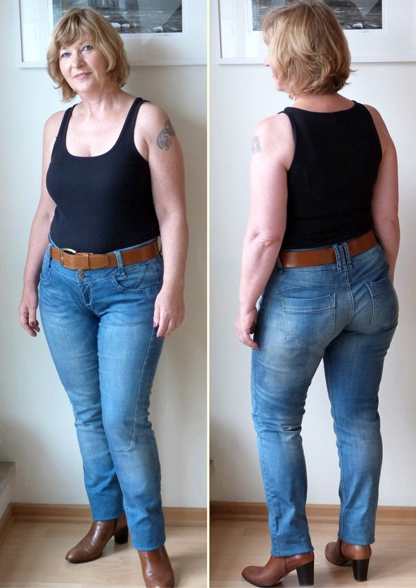 Acht stunden sind kein tag i 39 m blue dabadidabadei for Welche jeans macht schlank