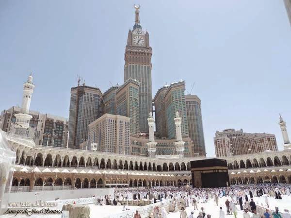 cara mengerjakan umrah masjidil haram