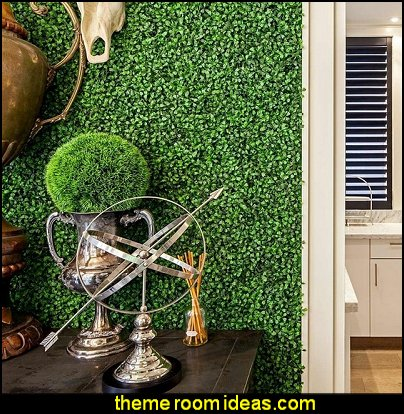 artificial plants - artificial hedges garden bedrooms
