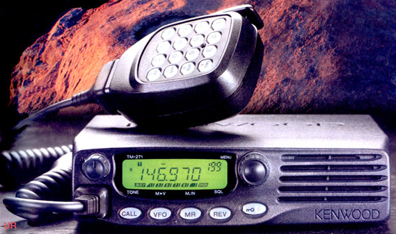 Kenwood TM-271A/E Mobile Radio
