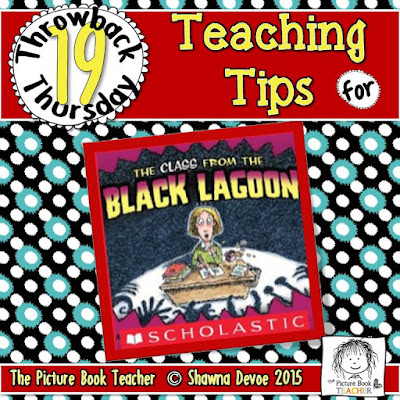 The Class From The Black Lagoon by Mike Thayer TBT - Teaching Tips.