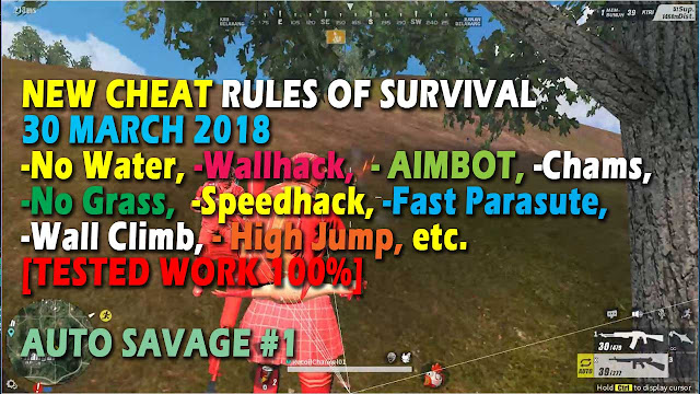 Cheat Rules of Survival Treonin 7.0 Update 30 Maret 2018