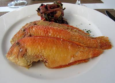 Galanes de Cabo de Gata. Pescado frito. Gastronomía Cabo de Gata