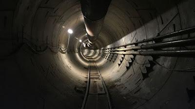 elon musk tunnel