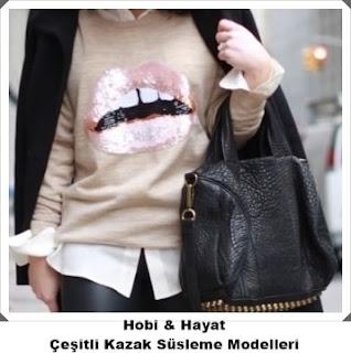 Kazak Süsleme - Hobi Moda 11