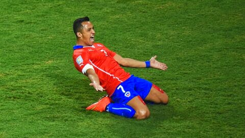Alexis Sanchez scores as Chile see off Australia 3-1
