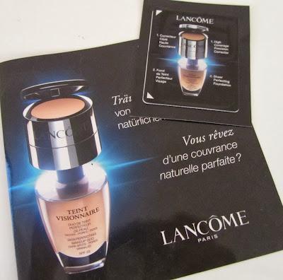 lancome teint visionnaire sample