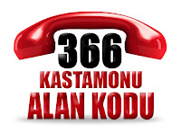 0366 Kastamonu telefon alan kodu