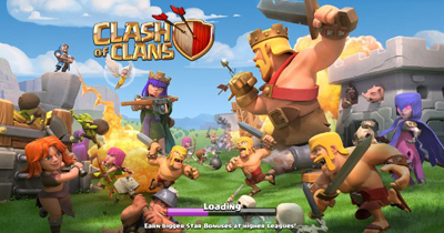 Download Mod Apk Clash of Clan v11.185.13 Unlimited Gold Gems Elixir