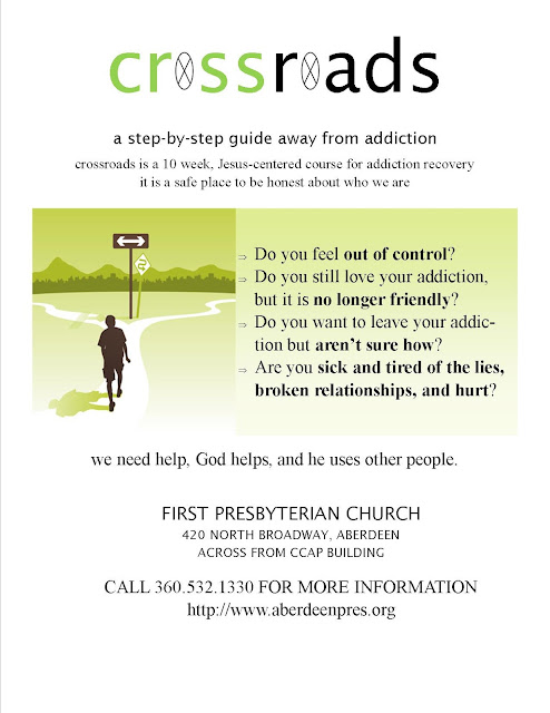 Click to View/Download info about the Crossroads Course for Addiction Recovery