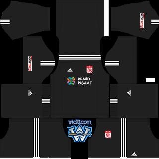 kit dream league soccer 2018, Sivasspor dls fts forma süperlig