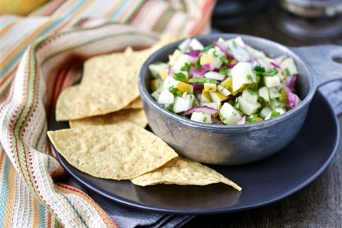 Asian Pear Salsa
