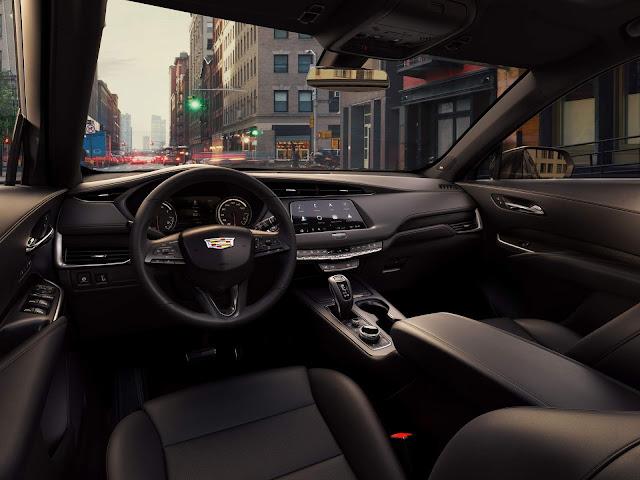 Cadillac XT4 - interior