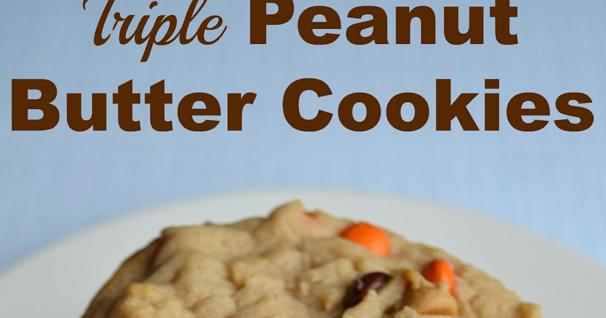 East Coast Mommy: Triple Peanut Butter Cookies