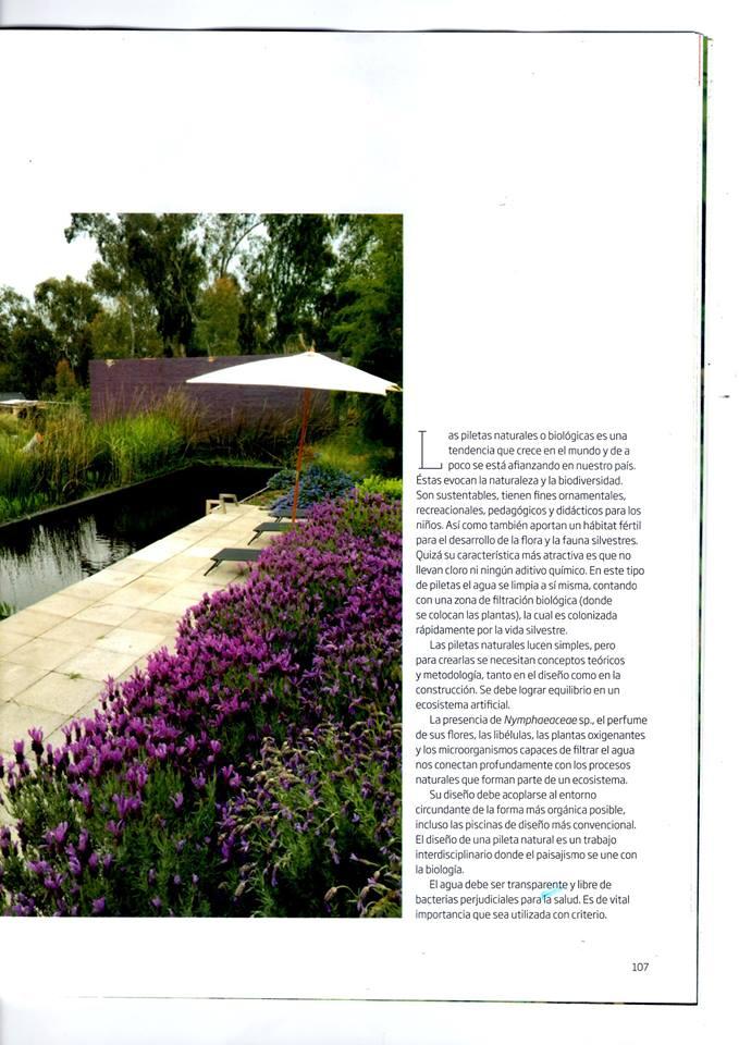 Paula tarditi paisajista floricultora gu a bot nica for Revista jardin 2016