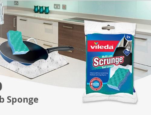 FamilyRated Vileda Scrunge Multi-Use Scrub Sponge