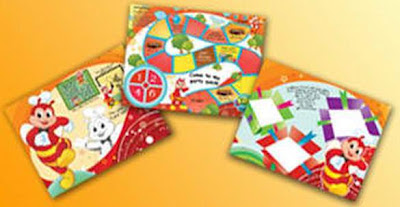 Jollibee party package - My Bestfriend Jollibee tray liners