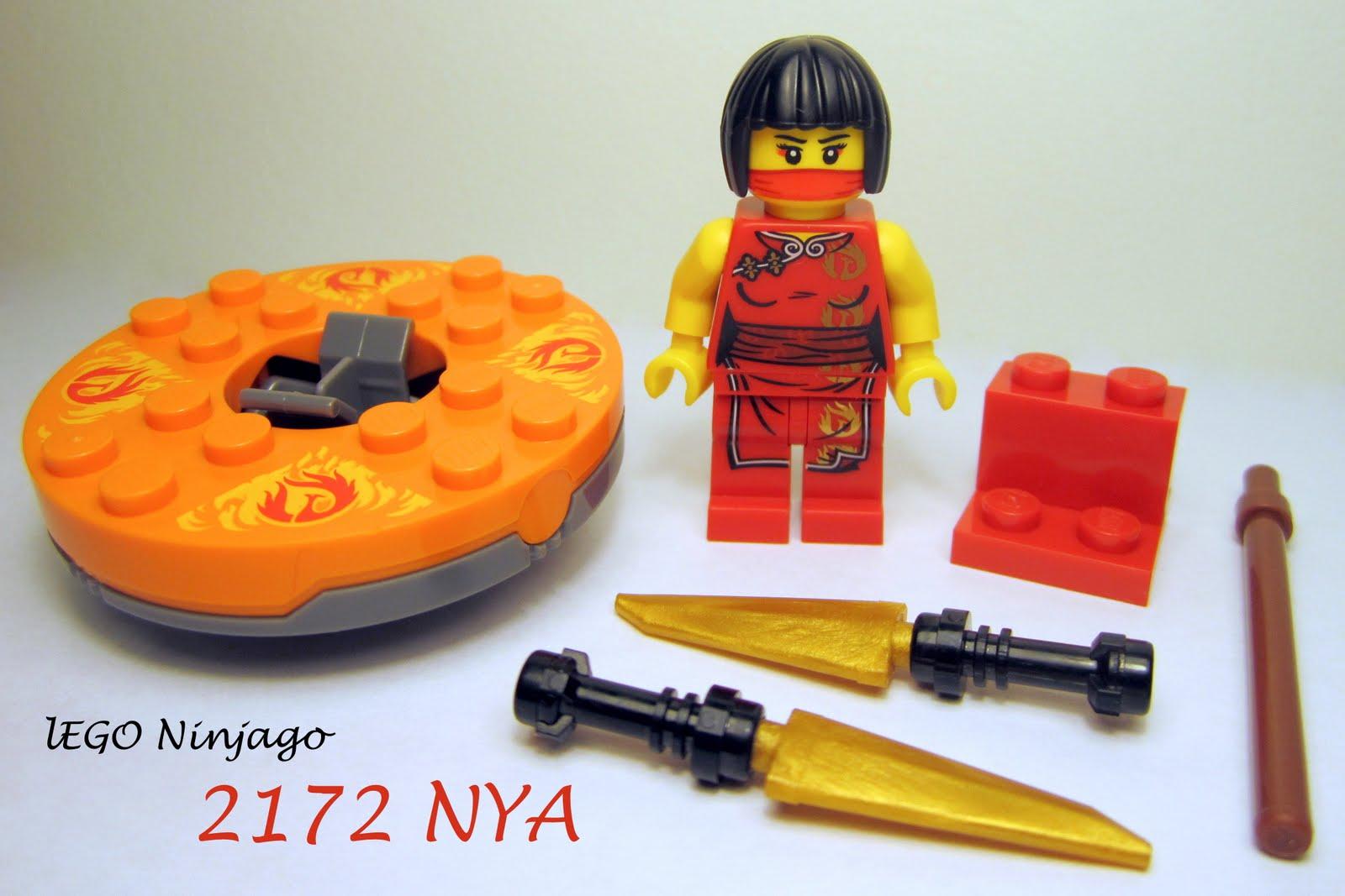The Brick Brown Fox: Lego Ninjago 2172 Nya