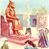 Молох богът на Соломон Новия Завет Откровение
