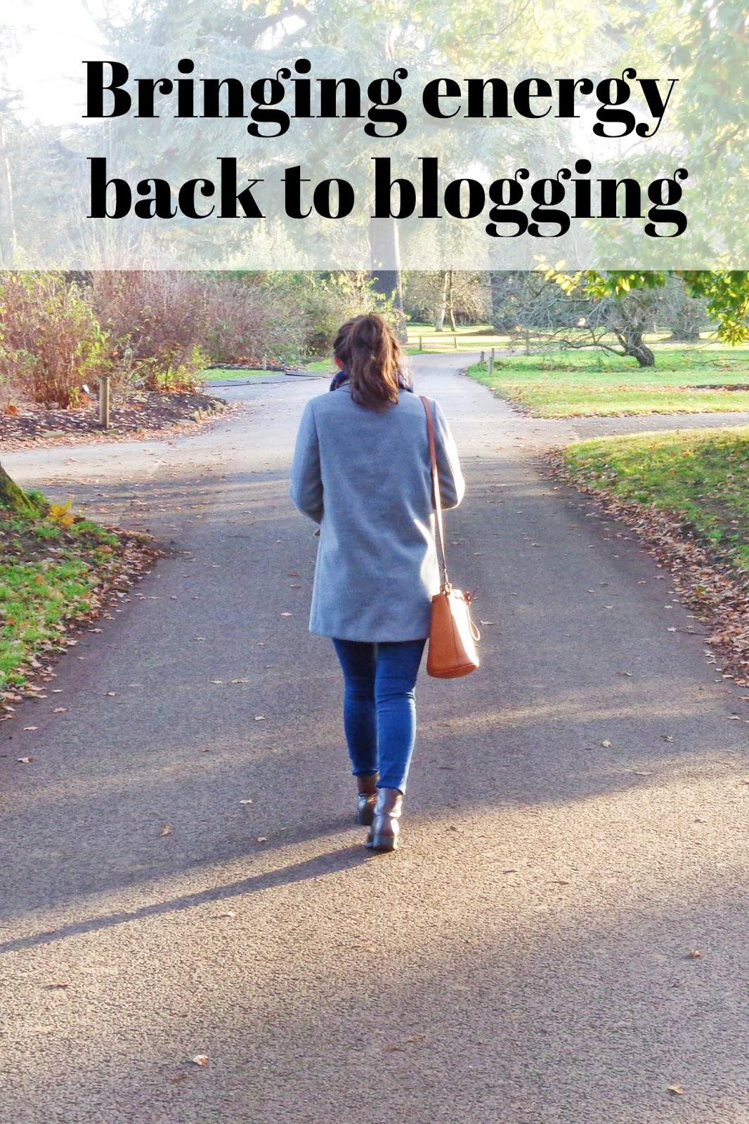 Bringing Energy Back to Blogging in 2018