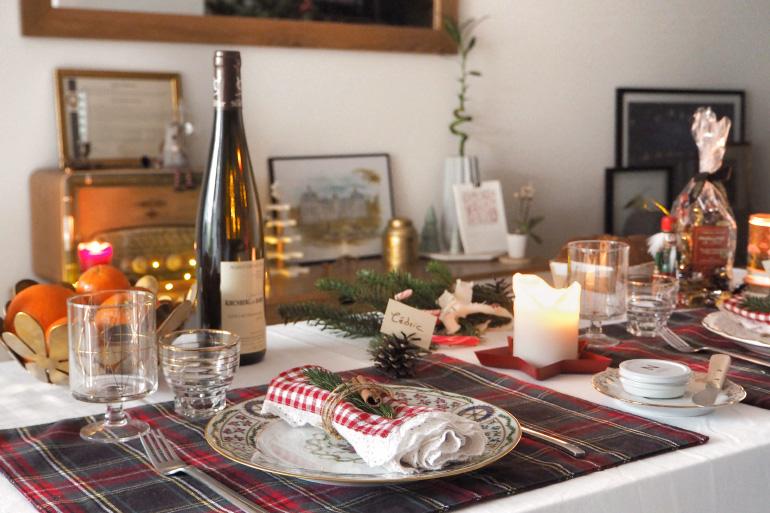 Idées déco pour une jolie table de Noël
