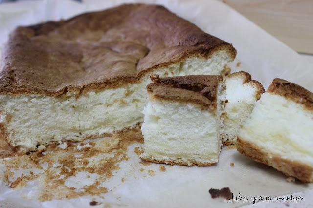 Bica blanco de Laza, sin gluten. Julia y sus recetas