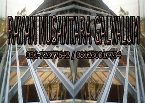 jarak reng baja ringan atap galvalum rayan nusantara galvalum: cara pemasangan umumnya
