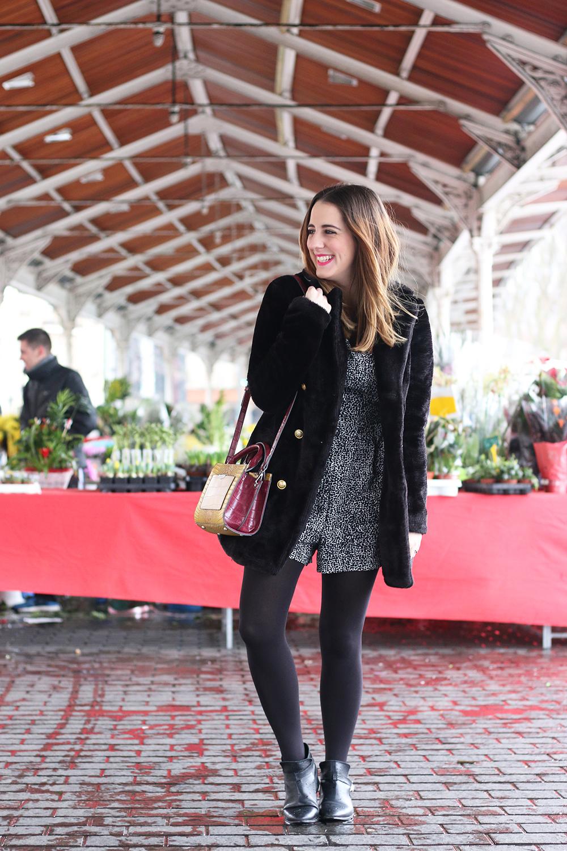 Bu00e1sicos de invierno u00a1abrigo de pelo! | Me Myself My Wardrobe | Bloguera y Youtuber de moda ...