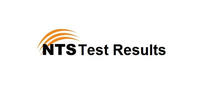 NTS Result for Punjab Forensic Science Agency, Home Department (screening test)