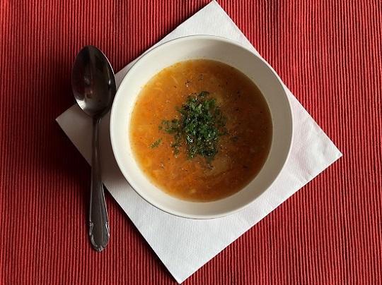 Zupa marchewkowa - na rozgrzanie