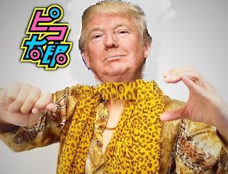 I have a Donald. I have a Trump, I have a Donald Trump president EEUU